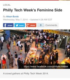 Philadelphia:  More Women in Tech, but same problems exist. See:  http://www.nbcphiladelphia.com/news/local/More-Women-in-Tech-Same-Problems-258212861.html#
