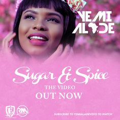 VIDEO: Yemi Alade  Sugar n Spice   VIDEO: Yemi Alade  Sugar N Spice  Effyzzie Musics divaYemi Aladekicks off 2017 by servingSugar n Spice; the seventh single off her acclaimed sophomore albumMama Africa: The Diary of an African Woman.  TheGospelOnDeBeatzproduced mid-tempo reggae and R&B fusion follows-up Miss Alades high-octaneSeleboboproducedTumbumwhich has amassed over 3 million views on YouTube in less than 2 months. The award-winning performer will release more visuals fromMama Africa…