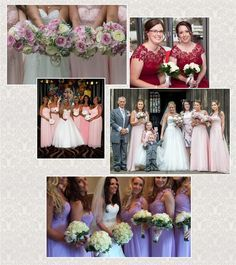 Eloise's Secret Closet Gallery of our Bridesmaids ......Real life Weddings