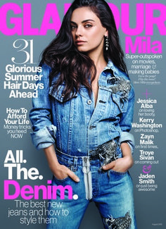 Meet our August cover star, Mila Kunis.