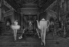 "Black & White photos: DOMINIC ROUSE - 'Tea Dance' - Fine Art Photography Black and White Print 10"" x 8"""