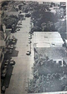 Rua Julio de Castilhos - Lajeado - anos 70