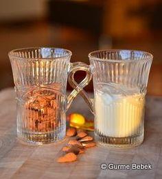 Badem sütü  fotoğrafı