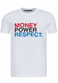 The Money Team - T-shirt Money Power Respect - Magic Custom