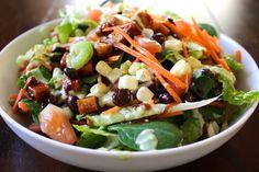 BBQ Tofu Salad Recipe on Yummly