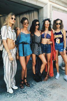 Victoria's Secret Models Coachella 2016