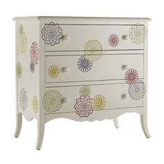 Stencil/decal idea for dresser... perfect for little girls room