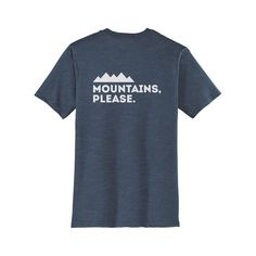 Mountains Please Men's Tee - discount mens clothing online shopping, cheap mens clothing online, mens clothing websites