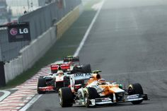 Highlights of the Korean GP    Sahara Force India picked up eight points in the Korean Grand Prix as Nico Hülkenberg raced to a brilliant sixth place. Teammate Paul Di Resta finished the race in twelfth place.    http://www.forceindiaf1.com/news/detail/korean-gp/2012-korean-grand-prix-race-report
