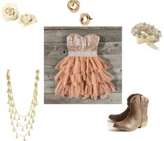 """""""Country Prom Dress"""" by lshahan on Polyvore"""