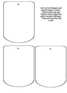 Homeschool Helper Online's Free Large Fan Lapbooking Template