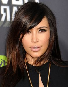 Hairstyles with Fringes and Side-Fringes