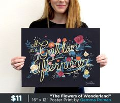 The Flowers of Wonderland - Pop Art Prints | TeeFury