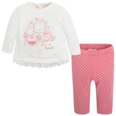 Leggings and t-shirt set Pinks - Mayoral
