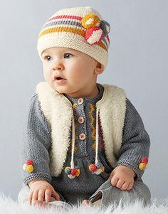 Modèle bonnet bébé - Modèles Gratuits Layette - Phildar   Baby ... 41c1cd1c950