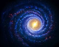Psychedelic Art and Illustration - spiral universe
