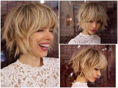 VISIT FOR MORE Super Short Bob Hairstyle. The post Super Short Bob Hairstyle. appeared first on kurzhaarfrisuren. Blonde Bob With Bangs, Layered Bob With Bangs, Short Bobs With Bangs, Layered Bob Haircuts, Short Hair Cuts, Short Hair Styles, Pixie Cuts, Super Short Bobs, Short Bob With Fringe
