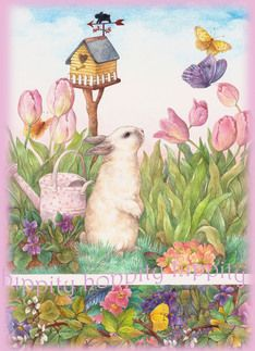 Judith Chen - easter greeting card