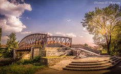 Iron bridge over Bega, Timișoara photo by Dumitrescu David Sydney Harbour Bridge, Romania, Iron, Architecture, David, Travel, Europe, Arquitetura, Viajes