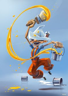 Trabajadores ilustrados * http://9musas.net/trabajadores-ilustrados/ 