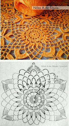 Transcendent Crochet a Solid Granny Square Ideas. Inconceivable Crochet a Solid Granny Square Ideas. Crochet Circles, Crochet Doily Patterns, Crochet Blocks, Crochet Diagram, Crochet Chart, Crochet Squares, Thread Crochet, Crochet Designs, Crochet Flowers