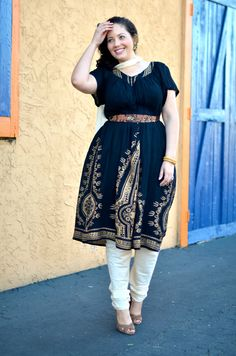 Girl With Curves: Indian Inspired