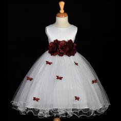 Vestidos De Dama De Honra-daminha Florista Com Saiote 1 A 12 - R$ 150,00 no MercadoLivre