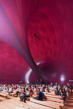 Ark nova, Inflatable concert hall, Japan