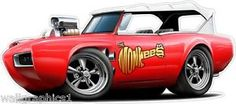 Cartoon Classic Cars | eBay