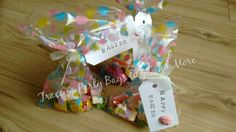 Easter treat bags.