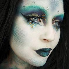 20 Unique Mermaid Makeup Looks For Halloween   Gurl.com