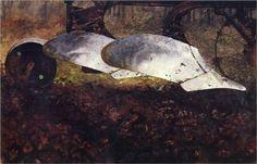 Spring Plowing - Jamie Wyeth, 1969