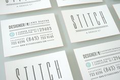 {love} letterpress business cards | graphic-exchange