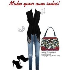 """""""Make your own rules!"""" by Miche Kat on Polyvore"""
