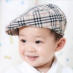 -Children-baseball-cap-hats-baby-boy-girl-beret-caps-plaid-Casual-caps-children-accessories.jpg