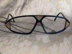 a497b726ee Cazal Vintage Eyeglasses - NOS - Model 199 - Col.618 -Blue   stones