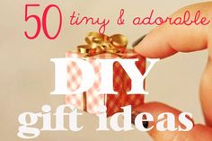 50 Tiny And Adorable DIY Stocking Stuffers !!!!: