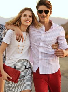 Love this preppy couple Preppy Mens Fashion, Nautical Fashion, Country Fashion, Preppy Boys, Preppy Style, 80s Fashion Kids, Men's Fashion, Preppy Handbook, Ivy Style
