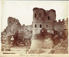 Gate of Saint Giovanni, Rome, Italy - Superb Albumen Photograph. Best Cities In Europe, San Giovanni, Old Photos, Monument Valley, Mount Rushmore, Rome, Photograph, Italy, Antique