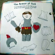 Lots of LDS quiet book page ideas