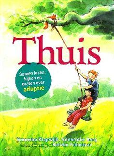 een boek met een verhaal waarin adoptiekinderen zich kunnen herkennen, dat uitnodigt om tot een gesprek te komen of vragen te stellen over de eigen adoptie.