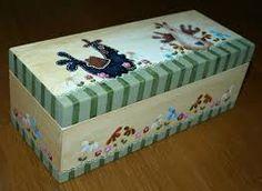 Resultado de imagem para caixas com pintura country