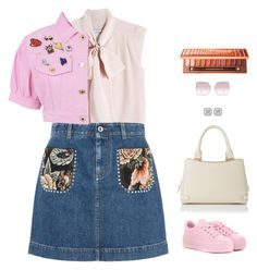 """""""young"""" by candynena228 ❤ liked on Polyvore featuring MaxMara, STELLA McCARTNEY, Moschino, Kenzo, L.K.Bennett, Fendi, Frederic Sage and Urban Decay"""