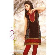 Sleeveless Batik Print #Kurti