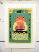 Image of Large Toad Stamp