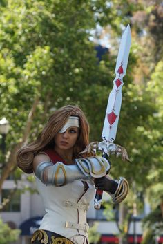 Did you wish to fight me? - Final Fantasy IX - General Beatrix