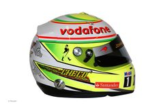Sergio Perez 2013 - Image rights and ownership are of the Vodafone McLaren Team and courtesy of F1 site F1 Fanatic.
