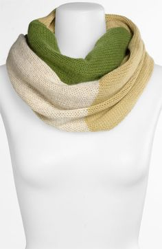 Nordstrom Colorblock Cashmere Infinity Scarf | Nordstrom