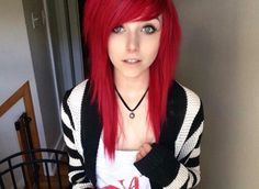 I'm planning on getting my hair dyed like hers