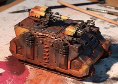 Jack Campbell gives us a few tips on painting tanks.